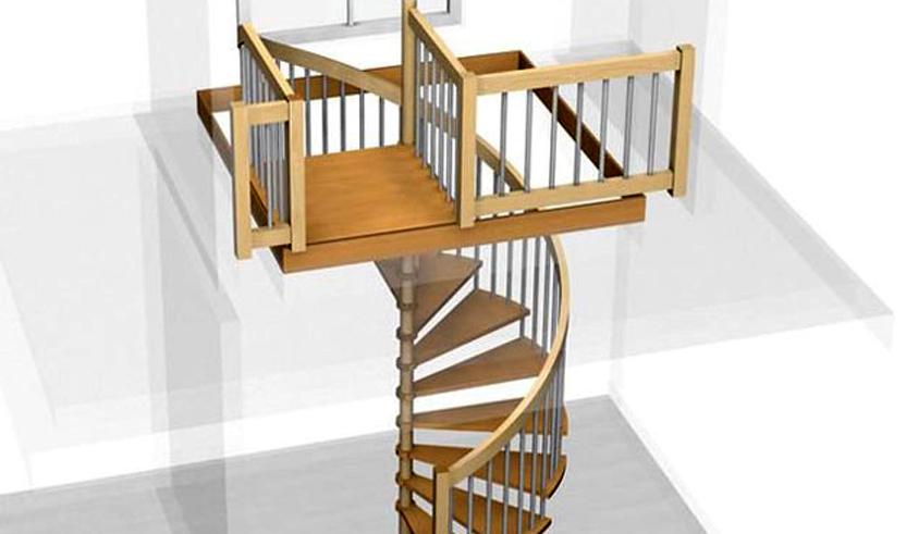 Projekty schodišť